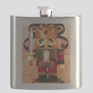 Holiday Nutcracker Flask