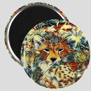 AnimalArt_Cheetah_20171001_by_JAMColors Magnets