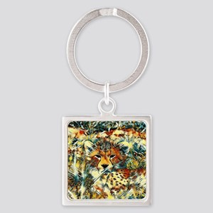 AnimalArt_Cheetah_20171001_by_JAMColors Keychains