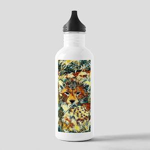AnimalArt_Cheetah_2017 Stainless Water Bottle 1.0L