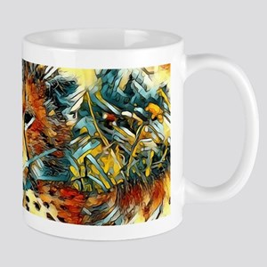 AnimalArt_Cheetah_20171001_by_JAMColors Mugs