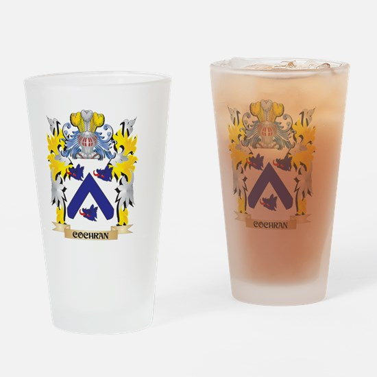 Cochran Coat of Arms - Family Crest Drinking Glass