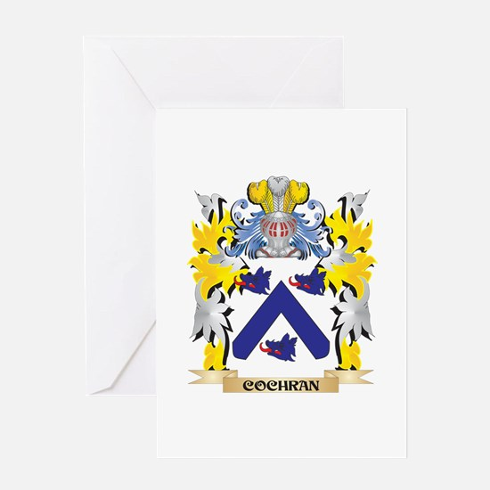 Cochran Coat of Arms - Family Crest Greeting Cards