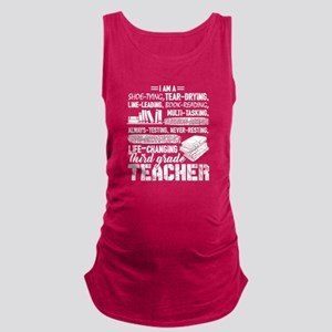 I Am A 3rd Grade Teacher Tank Top