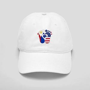 Filipino American Baby Cap