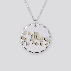 Baby Teeth Necklace Circle Charm