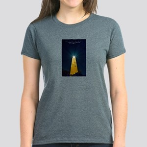 Ocracoke Light. Women's Dark T-Shirt