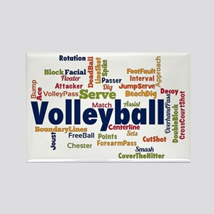 Volleyball Magnets