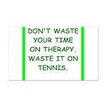tennis Rectangle Car Magnet