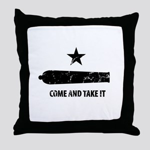 Come and Take It Throw Pillow