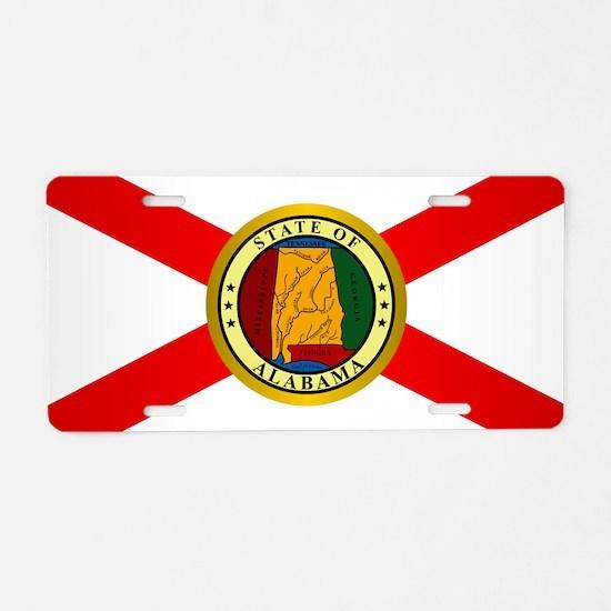 Alabama (v15b) Aluminum License Plate