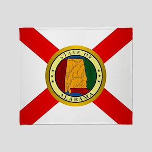 Alabama (v15b) Throw Blanket
