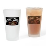 Kitimat Lodge Logo Drinking Glass