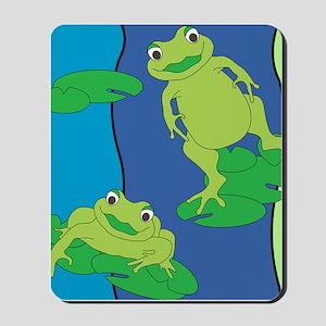 Two Frogs Pattern Mousepad
