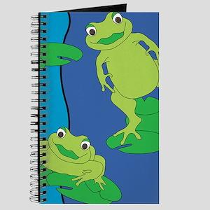Two Frogs Pattern Journal