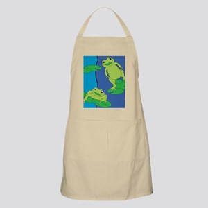 Two Frogs Pattern Apron