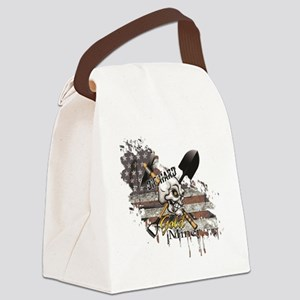 Gold Miner Canvas Lunch Bag