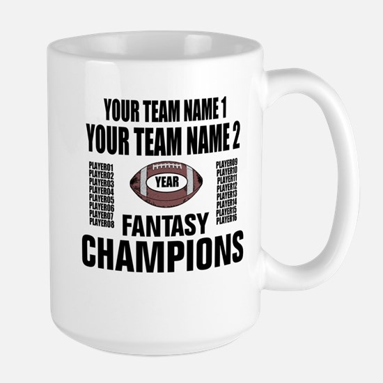 YOUR TEAM FANTASY CHAMPIONS Mugs