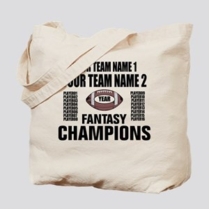 YOUR TEAM FANTASY CHAMPIONS Tote Bag