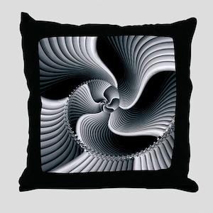 Sinuous Throw Pillow