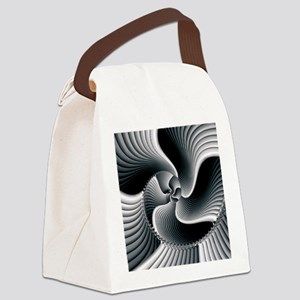 Sinuous Canvas Lunch Bag