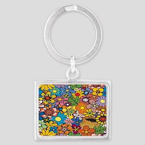 Flower Pattern Keychains