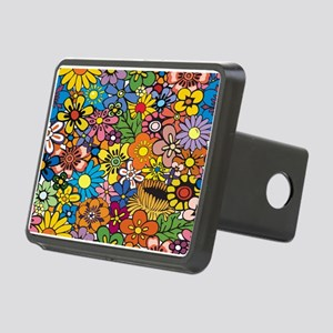 Flower Pattern Hitch Cover