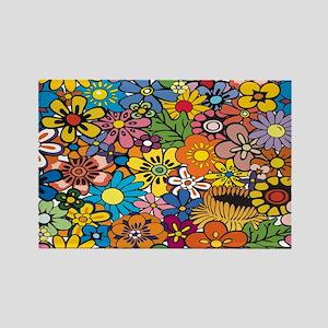 Flower Pattern Magnets