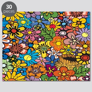 Flower Pattern Puzzle