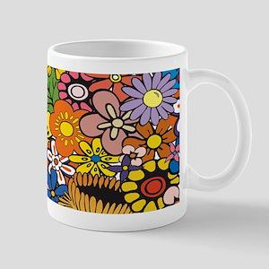 Flower Pattern Mugs