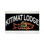 Kitimat Lodge Rectangle Magnet (10 Pack) Magnets