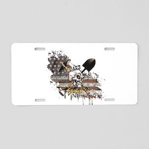 Gold Miner Aluminum License Plate