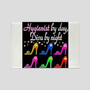 FOXY HYGIENIST Rectangle Magnet