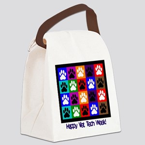Vet Tech Week Canvas Lunch Bag