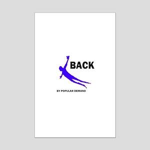 BACK BY DEMAND Mini Poster Print