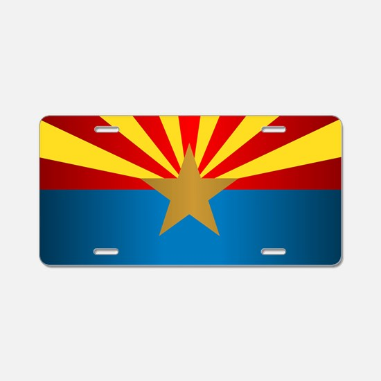 Arizona (v15b) Aluminum License Plate
