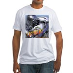 RoboFather Fitted T-Shirt