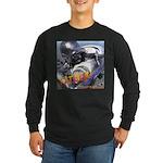 RoboFather Long Sleeve Dark T-Shirt