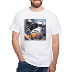 RoboFather White T-Shirt