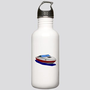 Red Cuddy Cabin Power Stainless Water Bottle 1.0L