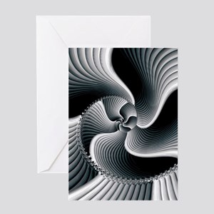 Sinuous Greeting Cards