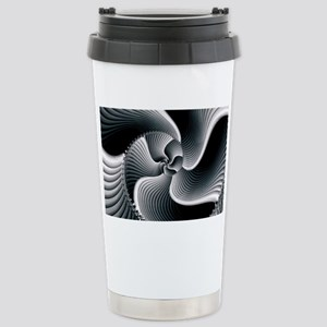 Sinuous Stainless Steel Travel Mug