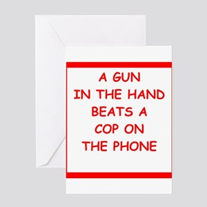 gun rights Greeting Cards