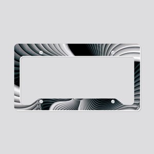 Sinuous License Plate Holder
