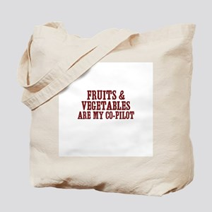 fruits & vegetables are my co Tote Bag