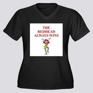red head Plus Size T-Shirt