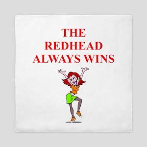 red head Queen Duvet