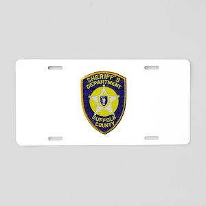 Suffolk Sheriff Aluminum License Plate