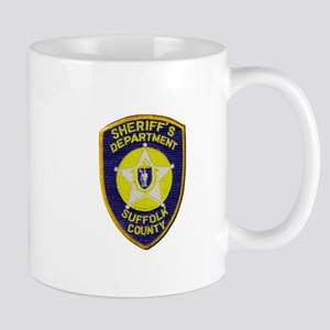 Suffolk Sheriff Mugs
