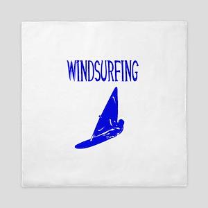 windsurfing design v 1 Queen Duvet